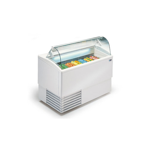 ISA Ice cream display chiller Curved Glass | FREE SHIPPING