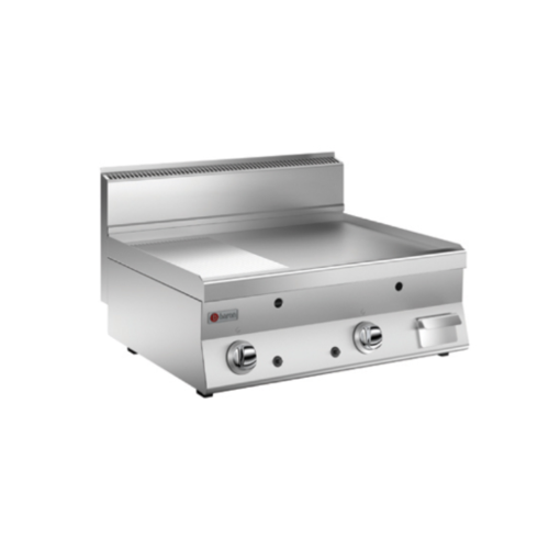 Baron Baron Gas Griddle With Smooth And Grooved Plate | FREE SHIPPING