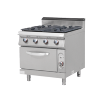 Gas Cooker with Gas Oven 4 Burner| FREE SHIPPING