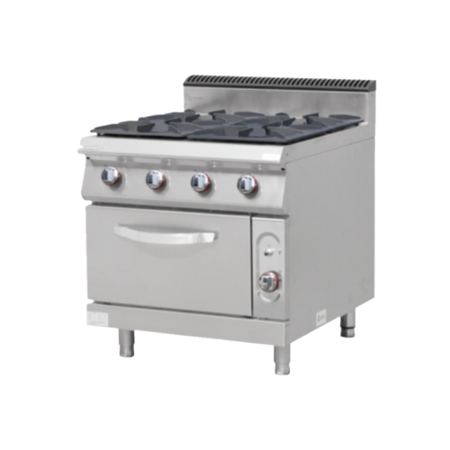 Alphalux Gas Cooker with Gas Oven 4 Burner| FREE SHIPPING