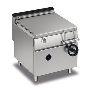 Baron Gas Manual Tilting Bratt Pan 80L | FREE SHIPPING