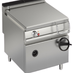 Baron Gas Manual Tilting Bratt Pan 80L | MILD STEEL | FREE SHIPPING
