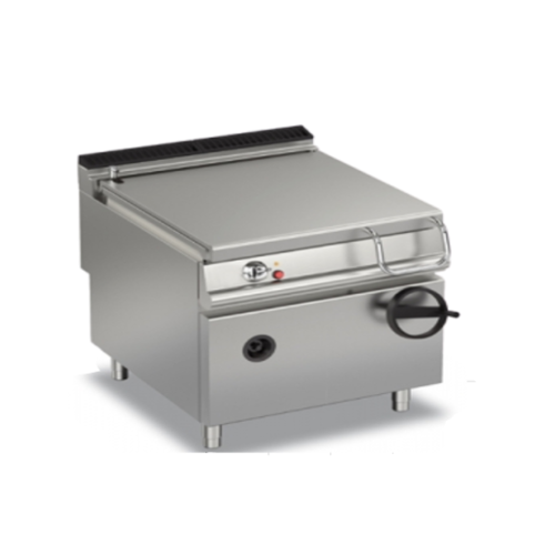 Baron 80 Litre Manual Tilt Electric Bratt Pan | MILD STEEL |  90BR/E81 | FREE SHIPPING