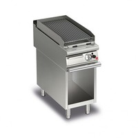 Lava Rock Grills On Open Cabinet | Q90GLV/G400 | FREE SHIPPING
