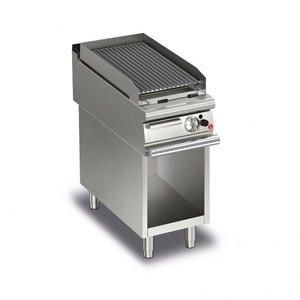 Baron Lava Rock Grills On Open Cabinet | Q90GLV/G400 | FREE SHIPPING