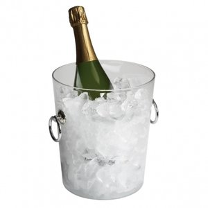 Cambro Clear Polycarbonate Wine Bucket with Handles