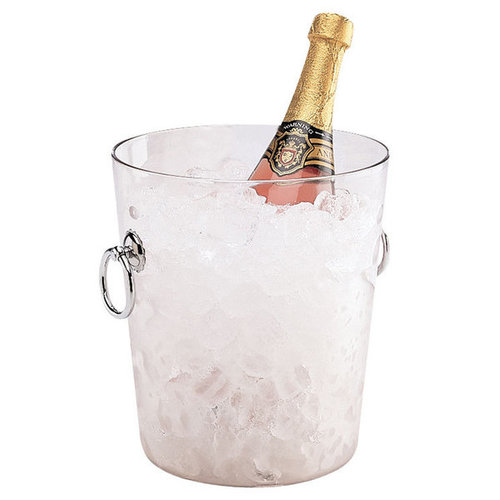 Cambro Clear Polycarbonate Wine Bucket with Handles | WC100CW135