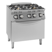 Gas Cooker 4 Burner with Oven Giorik | ECG740F | FREE SHIPPING