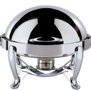 Tiger Hotel EUR I Round Chafing Dish - TIG-1282D-CHO - FREE SHIPPING