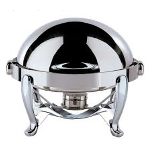 Tiger Hotel EUR I Round Chafing Dish with Chrome Legs (MEDIUM), Size  - FREE SHIPPING