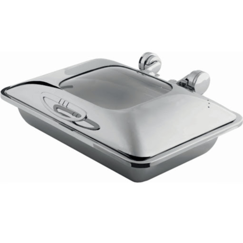 Tiger Hotel Smart W oblong chafing dish with glass lid