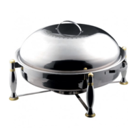 OUZI Round Chafing Dish - HIGH QUALITY - FREE SHIPPING