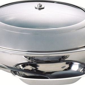 Tiger Hotel LARGE Smart Round Chafing Dish
