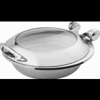 Smart W round chafing dish