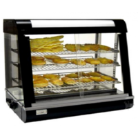 Curved Glass Warming Show Case | FW660
