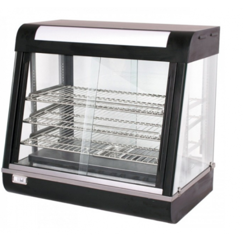 Alphalux Curved Glass Warming Show Case | FW660