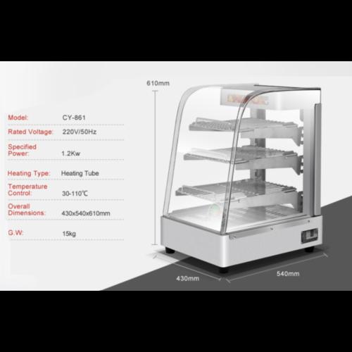 Food Warmer Showcase | CY-861
