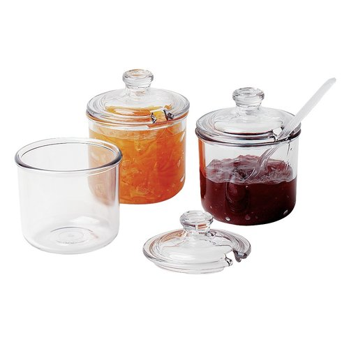 Cambro Condiment Jar with Slotted Lid | 8 ounces / 240 mL |  CJ80CW135