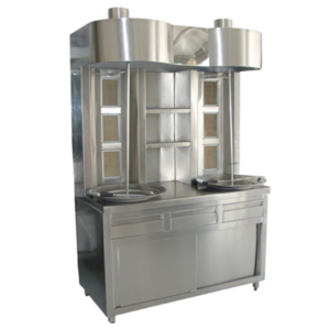 Shawarma Double on Cabinet 6 Burner | FREE SHIPPING