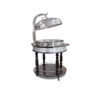 Chafing Dish Trolley With lid | FREE SHIPPING