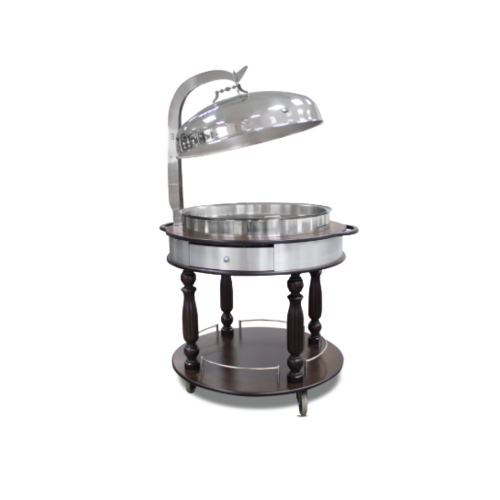 Ozti Chafing Dish Trolley With lid | FREE SHIPPING