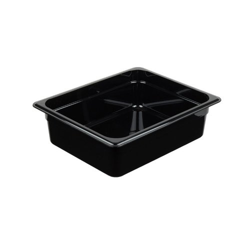 Cambro 1/2 Size Black Polycarbonate Food Pan | Camwear | Different Sizes