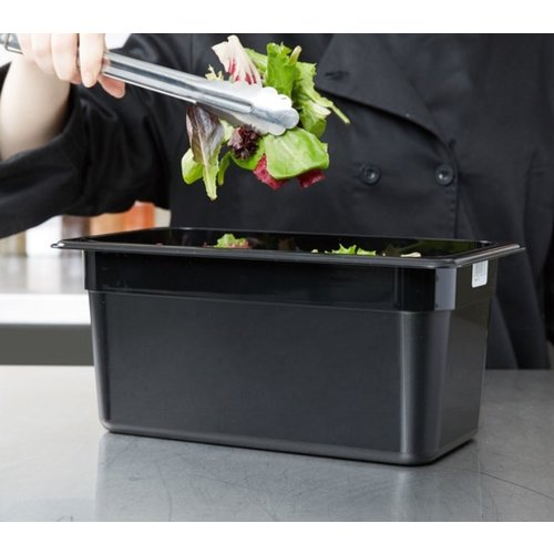 Cambro 1/3 Size Black Polycarbonate Food Pan | Camwear | Different Size