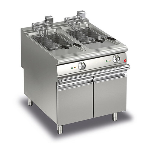 Baron 20+20L Double Basin Electric Deep Fryer
