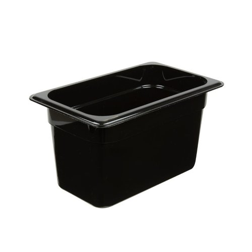 Cambro 1/4 Size Black Polycarbonate Food Pan | Camwear | Different Sizes