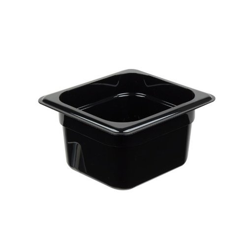 Cambro 1/6 Size Black Polycarbonate Food Pan | Camwear | Different Sizes