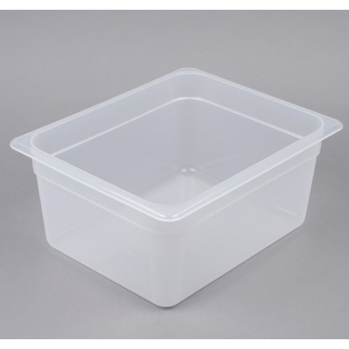 Cambro 1/2 Size Translucent Polypropylene Food Pan | Different Sizes