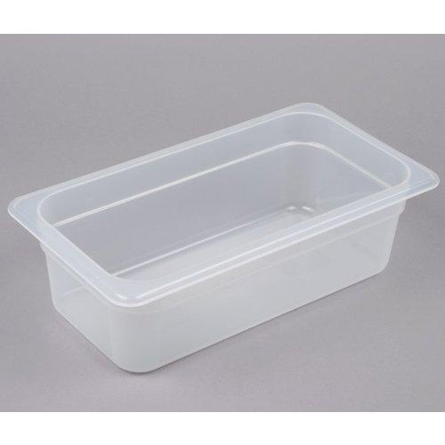 Cambro 1/3 Size Translucent Polypropylene Food Pan |