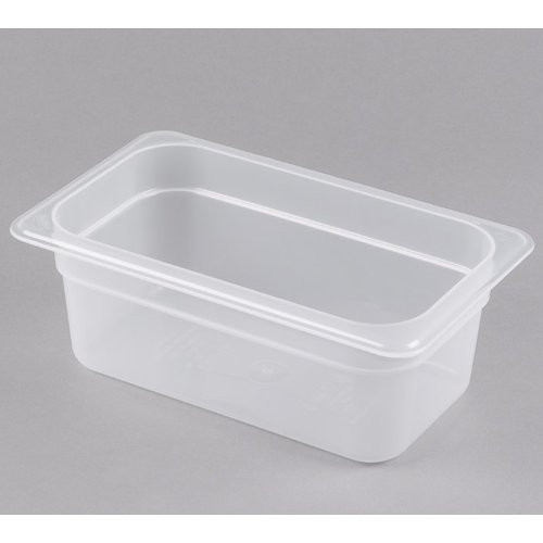 Cambro 1/4 Size Translucent Polypropylene Food Pan | Different Sizes