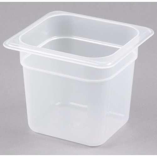 Cambro 1/6 Size Translucent Polypropylene Food Pan | Different Sizes