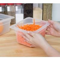 1/6 Size Translucent Polypropylene Food Pan
