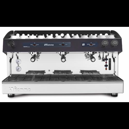 Fiamma Espresso Coffee Machine Semi | CARAVEL 3 TC | Automatic 3 Group