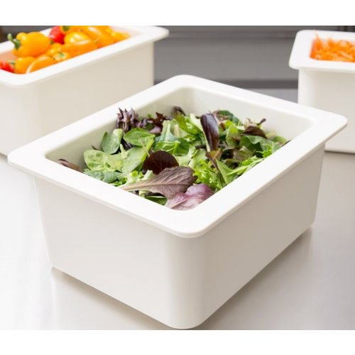 """Cambro ColdFest  White ABS Plastic Food Pan 