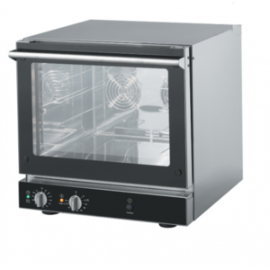 Alphalux Electric Convection Oven with Humidification 4 Trays