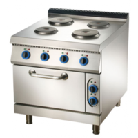 Electric 4 Hot Plate Cooker