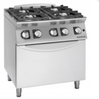 Gas Cooker 4 Burner with Oven ECG940F
