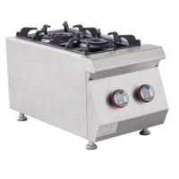 Gas Cooker 2 Burner E-RQB-400