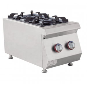 Alphalux Gas Cooker 2 Burner E-RQB-400