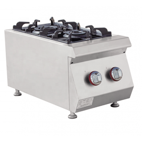 Alphalux Gas Cooker 2 Burner E-RQB-400 | FREE SHIPPING