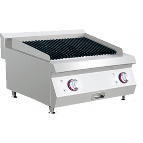 Alphalux Gas Charcoal Grill | AXCHG-600-2