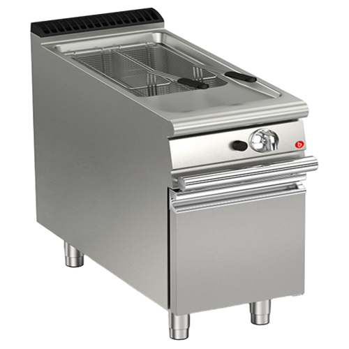 Baron 15L Single Basin Electric Deep Fryer | Queen Line | FREE SHIPPING