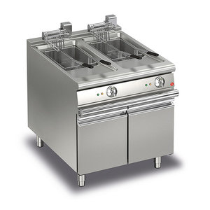 Baron 15+15L Double Basin Electric Deep Fryer
