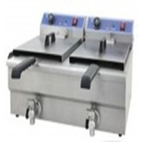 Gas Fryer Double Bowl | 12+12 Ltr