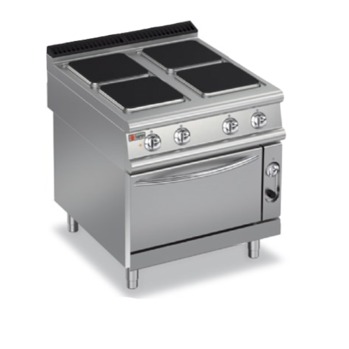 Baron Electric 4 Square Hotplate On Eelectric Oven