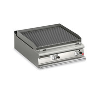 Two Burner Bench Model Gas Lava Rock Chargrill
