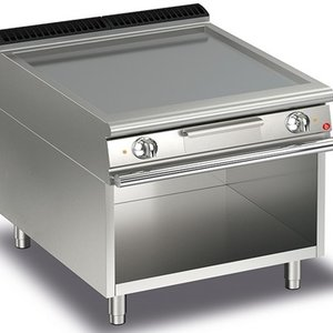 Baron Electric Smooth Plate Griddle On Open Cupboard
